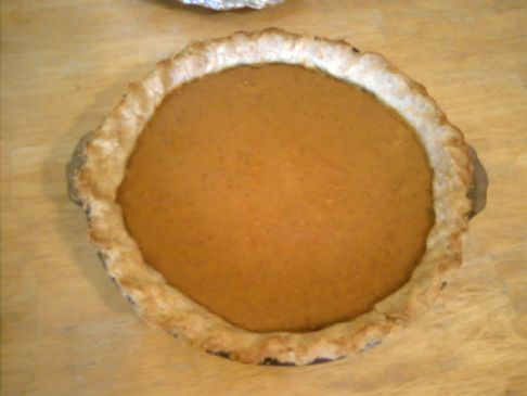 Gluten Free Pumpkin Pie (crust and filling)