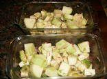 Eggplant Avocado Salad