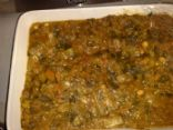 Spinach, Lentil & Vegetable Garam Masala (Hot)