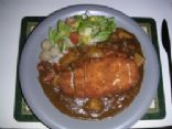 Chicken Katsu Curry (Deep fried Chicken in Curry)