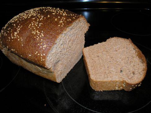 Honey Sweet Whole Grain Bread