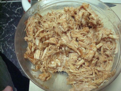 Pulled BBQ Chicken