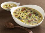 Smoked Sausage, Butternut, and Wild Rice Soup