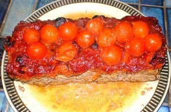 Kangaroo Meatloaf with Herbed Tomato Glaze