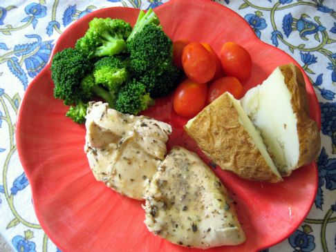 Provençal Chicken with White Wine Lemon Butter Sauce