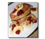 Low Fat Whole Wheat Pancakes