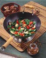 Mushroom Spinach Stir Fry