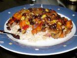 Spicy Vegan Black Bean Chili