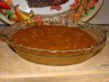 Cottage Pumpkin Crustless Pie