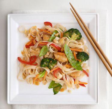 Spicy Asian Chicken Stir-Fry
