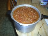 Spicey Poor Mans Chili with Beans
