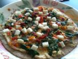 The Best Veggie Personal Pizza
