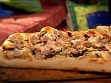 Greek Pizza with Chicken, Feta