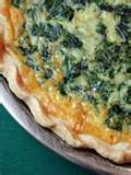 SPINACH AND CRAB QUICHE