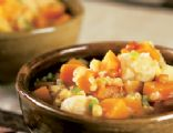 Butternut Stew with Tofu, Corn, and Pine Nuts