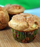 Gluten free Cinnamon and apple muffins