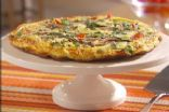 Cheese Vegetable & Ground Turkey Frittata