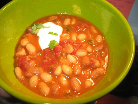 Cilantro Bean Chili