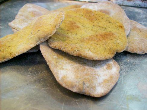 Herbed Chickpea Crackers