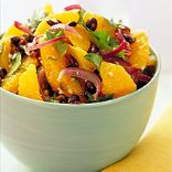 Orange-Cilantro Black Bean Salad