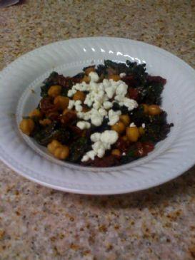 Balsamic sauteed kale