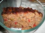 Roasted Vegetable Meatloaf