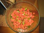 Fire and Ice Watermelon Salsa