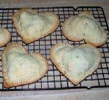 Heart shaped mini pie