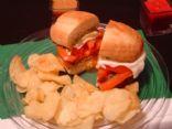 Tomato and Mozzarella Cheese Sandwich