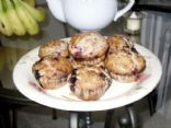 4 Berry Vegan Muffins