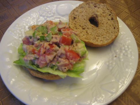 Spicy Habanero Tuna Sandwich