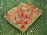 Healthy Strawberry-Rhubarb Bar