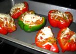 Quick Vegetarian Stuffed Peppers
