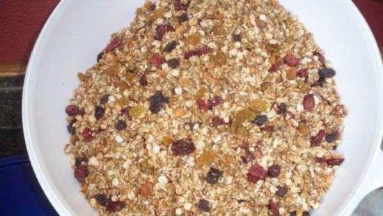 Low Fat Toasted Granola
