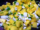 Spicy Mango Coconut Salad