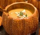 Butternut Yam Cream of the Harvest Soup