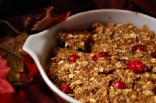 Cranberry-Orange Pumpkin Granola Cookie Bars