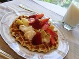 Protein Waffle One-two-three