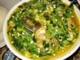 West African Okro Soup with Fufu Recipe