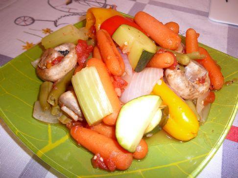 Vegan Summer Veggie Medley