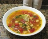 Cilantro-Lime Chicken and Hominy Soup