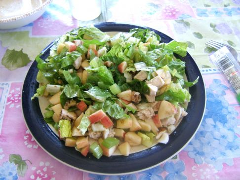 Chicken Walnut Apple Salad
