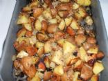 Roasted Garlic & Onion Potatoes