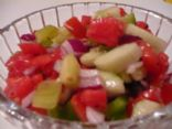 Cucumber, Tomato Summer Salad