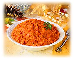 Mashed Sweet Potatoes with Pineapple