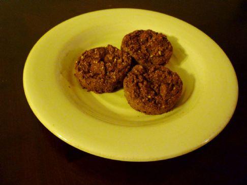 Low Cal Pumpkin Fiber Muffins