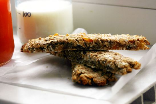 Oats&Apricot Granola Bars (sugarfree)