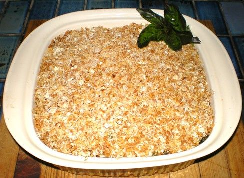Crunchy Oat Topped Fish Pie