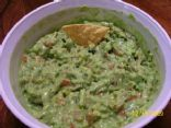 Guacamole - Easy, Healthy, Fresh, Low Calorie, Low Fat - with Vegetables