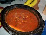 3 bean venison chili